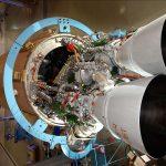 Le RD-180 monté sur le premier étage d'une fusée Atlas