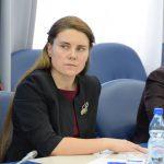 Anna Kikina, cosmonaute qui n'a pas encore volé, la seule femme du groupe des cosmonautes.