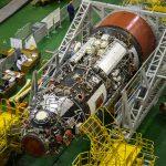 Le module Naouka dans le MIK 254 de Baïkonour.