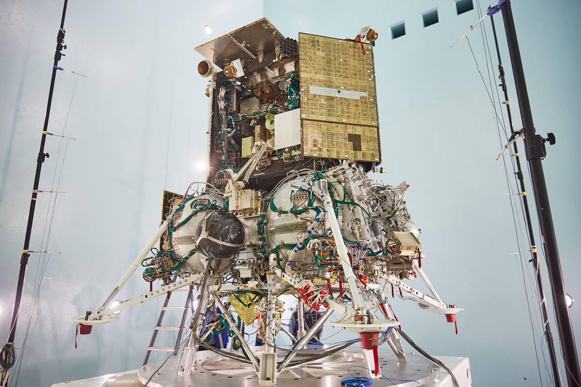 Vue générale de Luna-25.