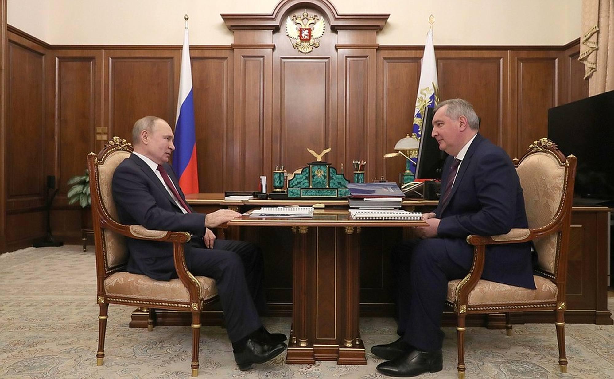 Rogozine et Poutiene le 20 février 2021.