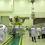 Intégration des satellites à Baïkonour.