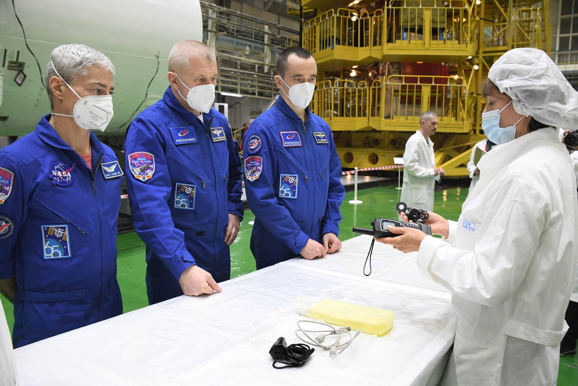 Même processus pour l'équipage principal.