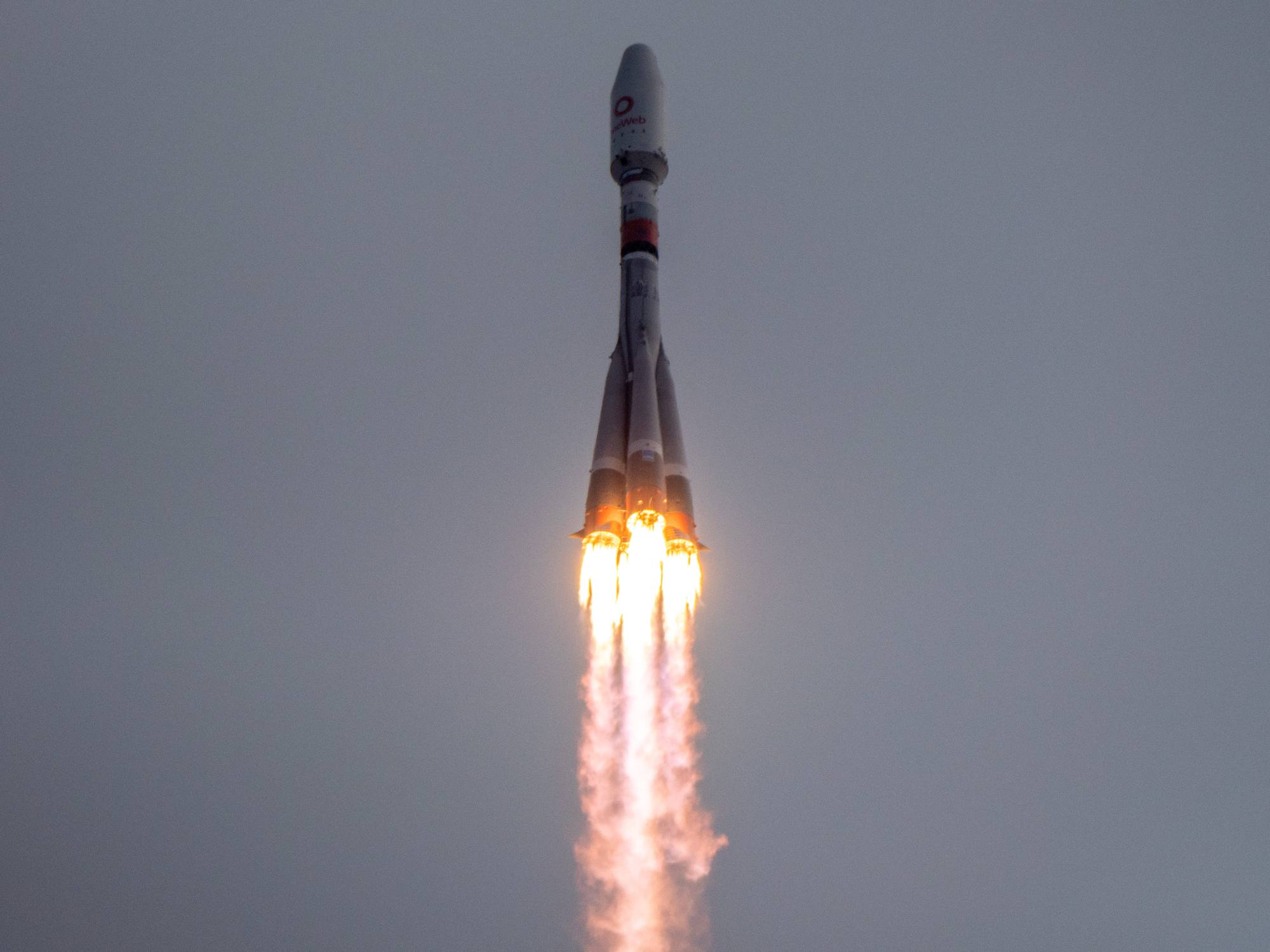 Soyouz 2.1b propulse sa charge utile dans le ciel de Vostochny.