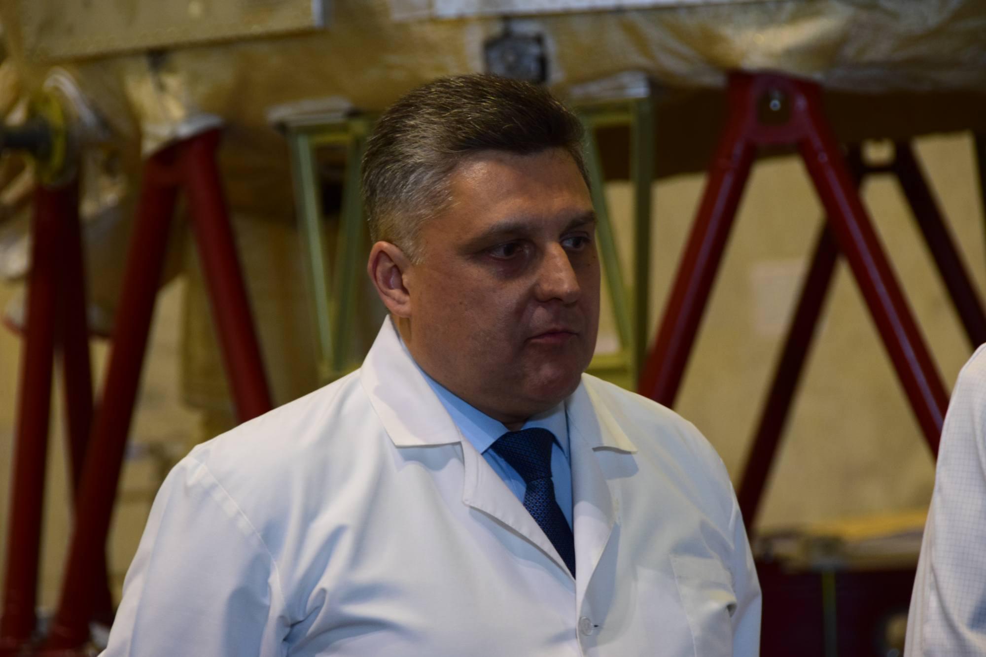 Alekseï Bideev, Concepteur en chef du module scientifique et énergétique [NEM] chez RKK Energuya.