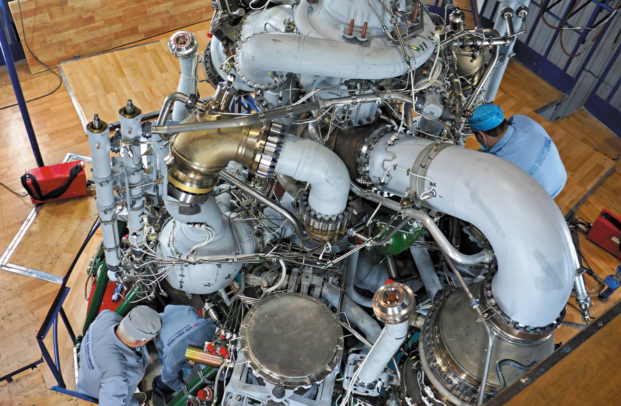 Le moteur RD-171MV.
