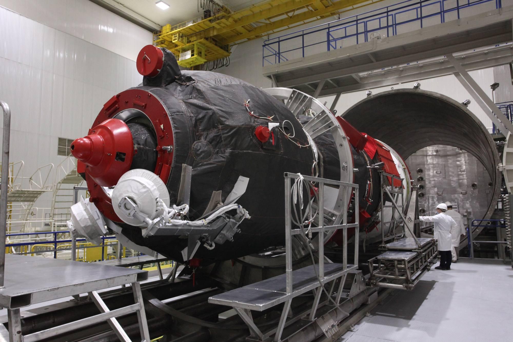 Progress MS-17 va être équipé des structures d'accès au cargo.