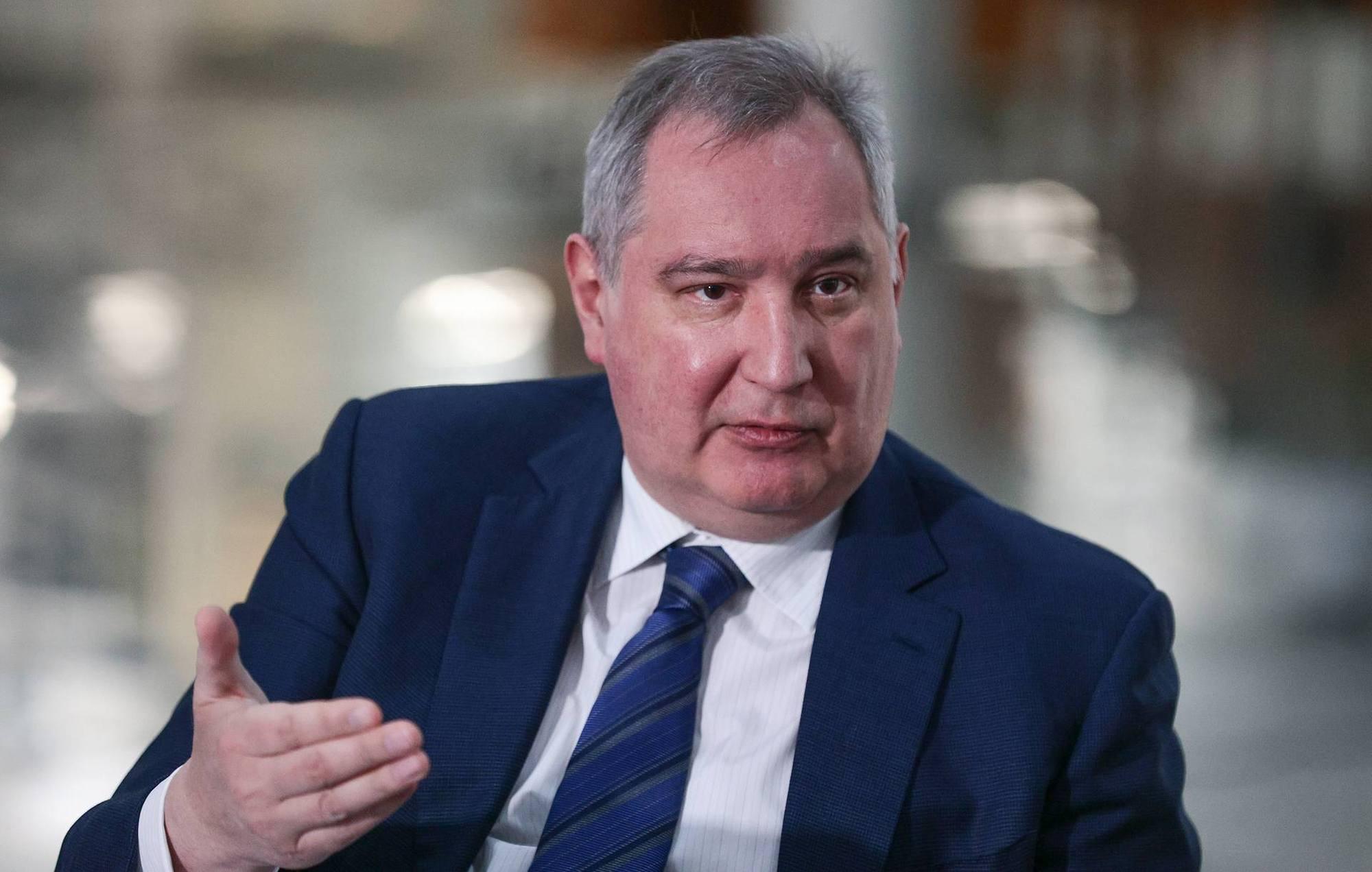 Dmitry Rogozine, DG de Roscosmos.