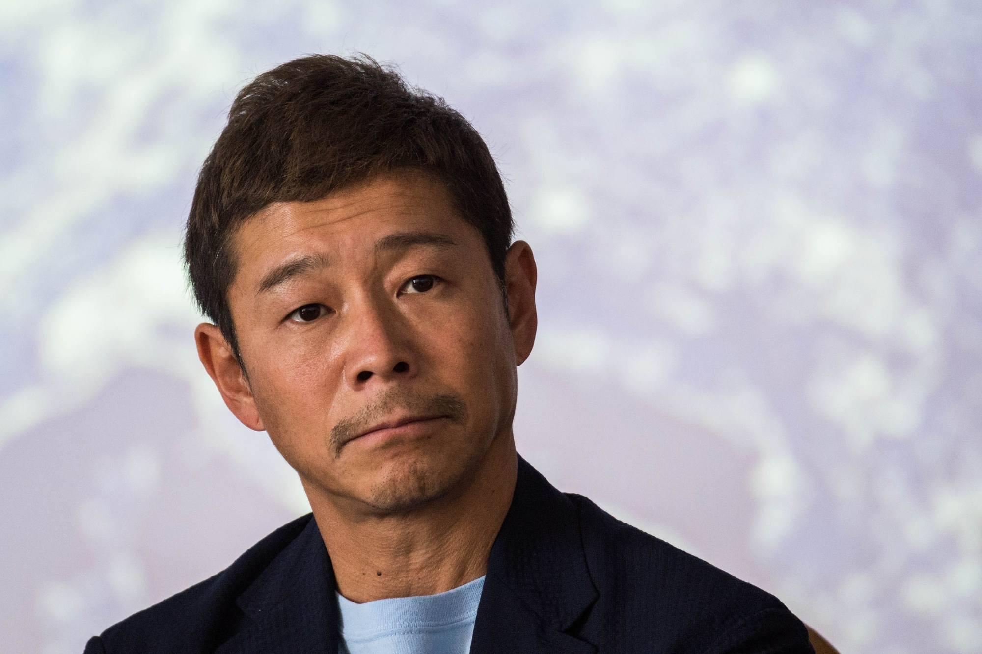 Yusaku Maezawa, président de Start Today Corporation, homme d'affaires.