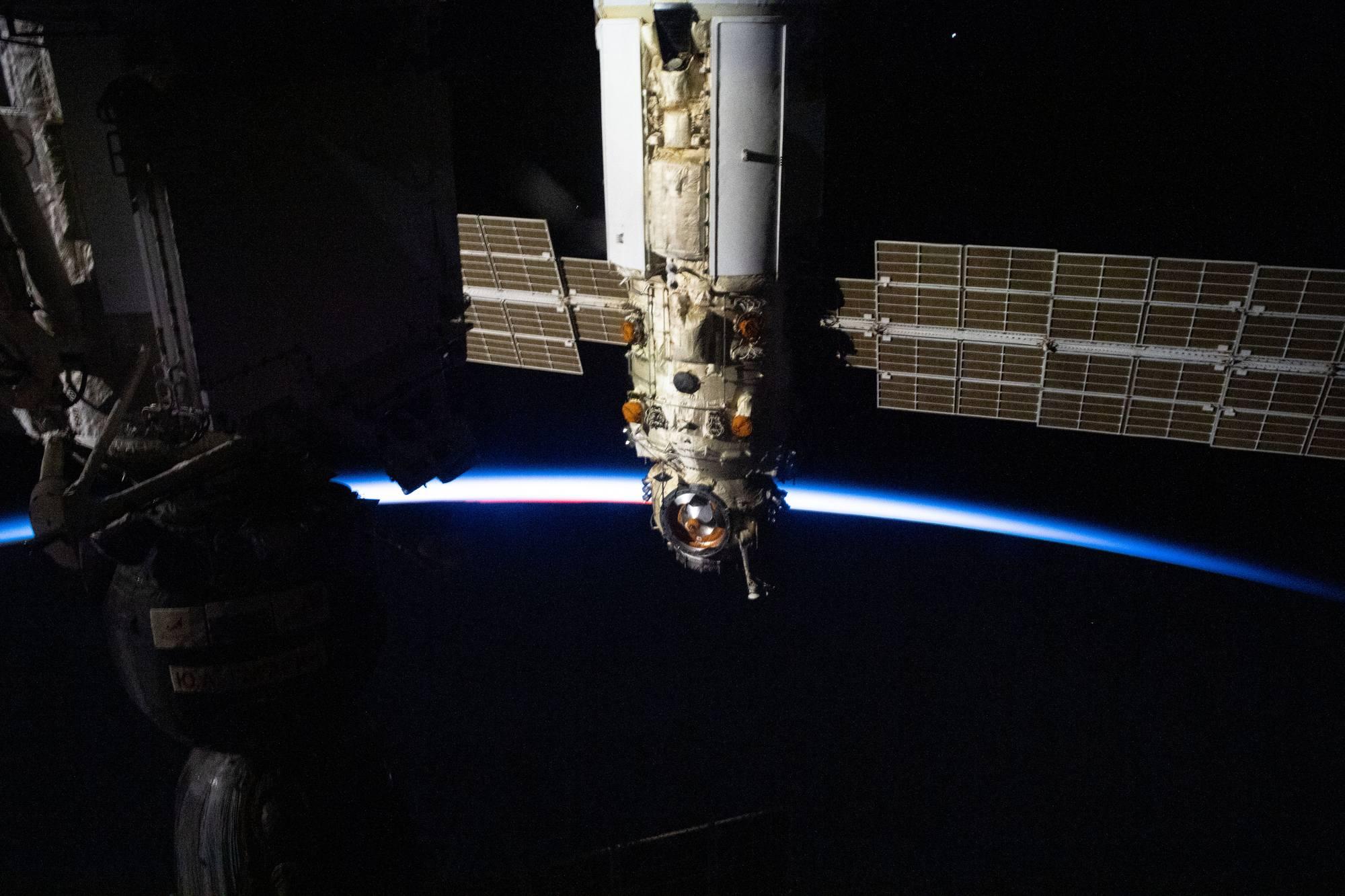 Le module Naouka de l'ISS.